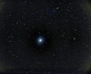 Deneb - blauer veränderlicher Stern im Sternbild Schwan - 28.1.2014
