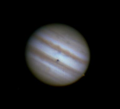 Jupiter mit Io, 9.3.2014