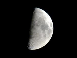 Der Mond am 16.7.2013