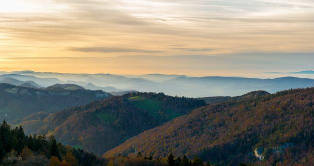 Blick über den Jura - Foto by David Hinnen