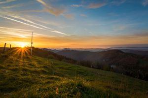 Sonnenuntergang - Foto by David Hinnen